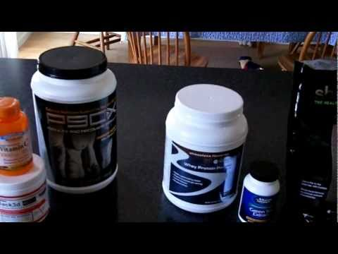 My Supplement Bag {P90X Supplements}