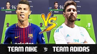 Nonton Team Nike Vs Team Adidas   Fifa 18 Experiment Film Subtitle Indonesia Streaming Movie Download