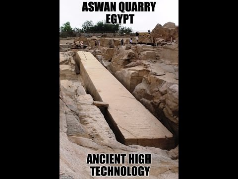 Lost Ancient Technology Of Egypt 2017: Aswan Quarry