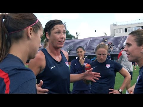 two - U.S. Women's National Team head coach Jill Ellis prepares her team for one last match before the start of Women's World Cup qualifying and the focus is on fine-tuning and finalizing a 20-player...