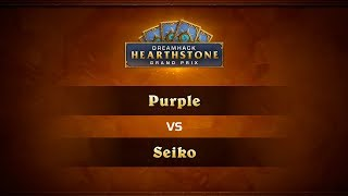 Purple vs Seiko, game 1