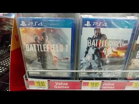 PS4 / PS3 Value Games At Walmart 2018