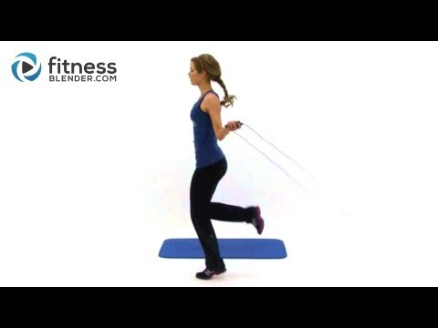 Jump Rope Weight Loss Routine – 20 Minute Home Cardio Workout