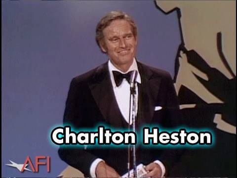 Charlton Heston Salutes James Cagney at the AFI Life Achievement Award