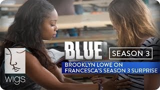 """Brooklyn Lowe reacts to her character, Francesca's Season 3 shocker.""""BLUE"""" Season 3 now live in its entirety on Hulu.Watch """"Blue"""" from the beginning: http://wigs.ly/1gFAMNHSign up for WIGS email updates here:http://wigs.ly/13F0tJpLike us on Facebook: http://wigs.ly/NY4TlgFollow us on Twitter: http://wigs.ly/SUi368About """"Blue"""": Blue is a mother with a secret life. She'll do anything to keep it from her son. But her past has other plans.Starring: Julia Stiles, Carla Gallo, Alexz Johnson, Daren Kagasoff, Brooklyn Lowe, James Morrison, Jane O'Hara, Kathleen Quinlan, Uriah Shelton, Laura Spencer, Eric Stoltz, Jacob Vargas• Julia Stiles - Winner, IAWTV Award for Best Female Performance - Drama (2013 and 2014)• Rodrigo Garcia - Winner, IAWTV Award for Best Director - DramaAbout WIGS:Breaking new ground with award-winning scripted dramas for the digital age.General Inquiries: info@watchwigs.comPress: press@watchwigs.com"""