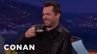 """Video Jim Jefferies Is Confused By Trump's """"P***y"""" Tape Phrasing  - CONAN on TBS MP3, 3GP, MP4, WEBM, AVI, FLV April 2018"""