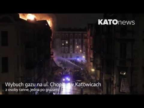 info - Około godziny 4:50 miał miejsce wybuch gazu na skrzyżowaniu Chopina i Sokolskiej Na miejscu akcji pracuje 28 zastępów straży pożarnej i 100 ratowników. ------------------------------...
