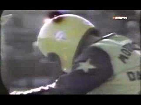 Evel Knievel&#39;s first jump on wide world of sport