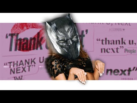 "Black Panther Sings ""thank U, Next"" By Ariana Grande! 