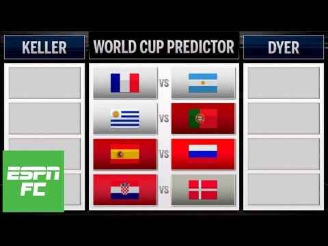 World Cup round of 16 predictions: Argentina vs. France, Portugal vs. Uruguay, and more | ESPN FC