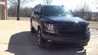 HD VIDEO 2015 CHEVROLET TAHOE LTZ 4WD NAV BLACK LOADED FOR SALE INFO SEE WWW SUNSETMOTORS COM