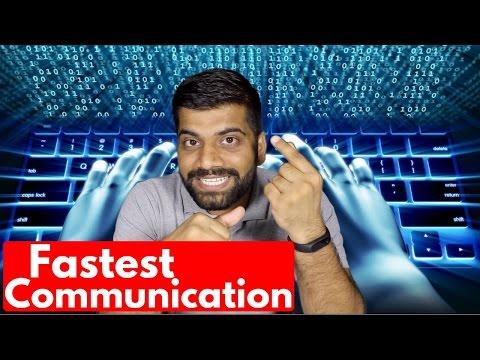 Fibre Optics - Fastest Communication Network   Backbone of Internet