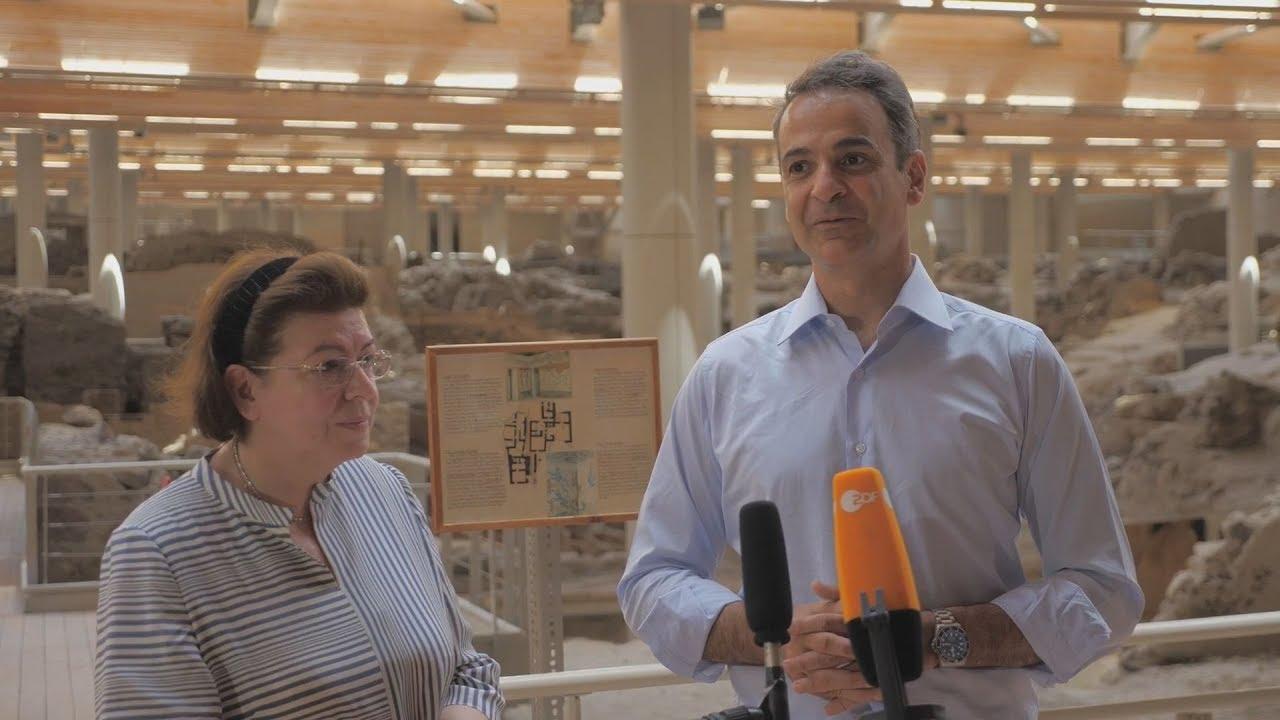 Κυρ. Μητσοτάκης: Η Ελλάδα είναι έτοιμη να υποδεχθεί τους τουρίστες με ασφάλεια