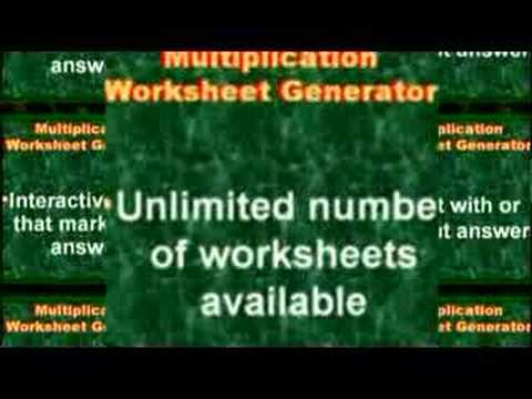 math worksheet : math worksheets generator multiplication  educational math activities : Online Math Worksheet Generator