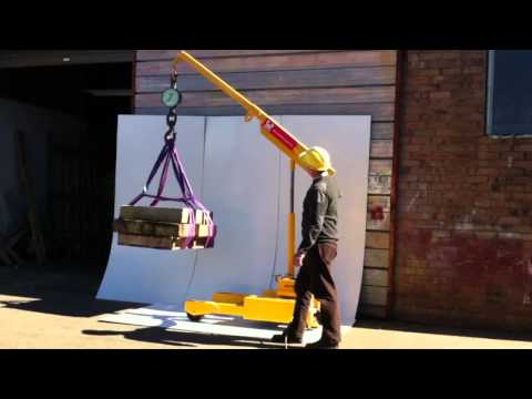 Heavy Duty Tailored Floor Cranes from Phoenix Lifting