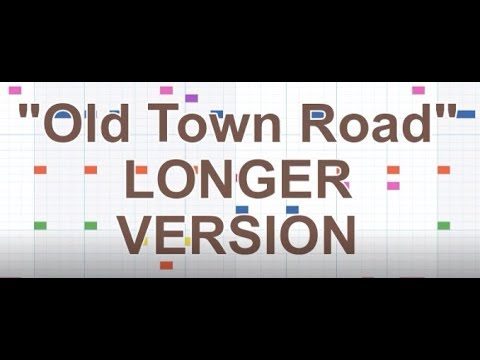 """Old Town Road"" (LONGER VERSION) Lil Nas X Beat On Song Maker By Chrome Music Lab"