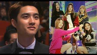 K-idol&Celebrities Reaction to RED VELVET!!!