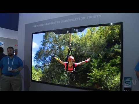 Samsung's 8K Glasses-Free 3D TV Blew Our Minds - CES 2015