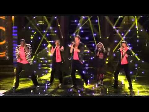 """1st Performance – Pentatonix – """"ET"""" by Katy Perry Ft Kanye West – Sing Off – Series 3"""