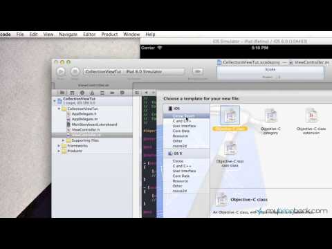 UICollectionView Tutorial Example In IOS 6 -…