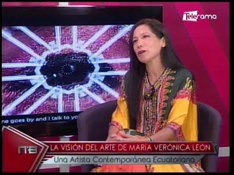 La visión del arte de María Verónica León una artista contemporánea ecuatoriana