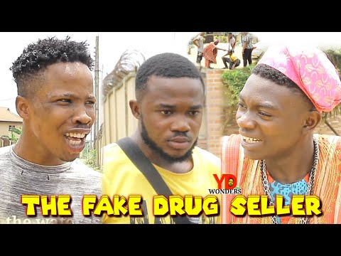 The fake drug seller    REAL HOUSE OF COMEDY    Funny smart concepts {Ydwonders comedy}