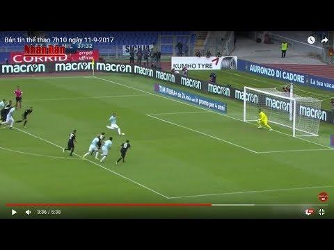 Tin Thể Thao 24h Hôm Nay (7h - 11/9): Vòng 3 Serie A - Inter Milan Thắng Nhẹ Spal - Thời lượng: 5:39.