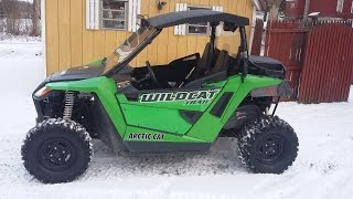 5. ARCTIC CAT WILDCAT TRAIL 700 FLUID CHANGE PART 2 (ENGINE OIL)