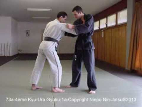 Prog. Tech. 5ème au 1er Kyu-Copyright Ninpo Nin-Jutsu®2013