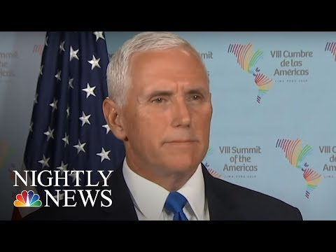 Video President Donald Trump's Officials Issue Warnings After Syria Strike | NBC Nightly News download in MP3, 3GP, MP4, WEBM, AVI, FLV January 2017