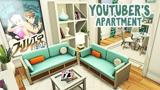 YouTube Gamer Apartment 🎮    The Sims 4 Apartment Renovation: Speed Build