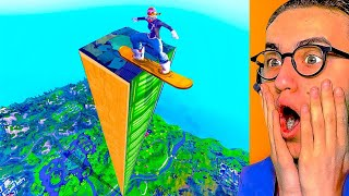 How Far Can A DRIFTBOARD FLY in Fortnite Battle Royale