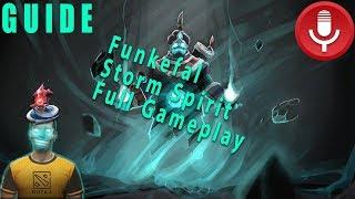 Video Funkefal Storm Spirit Full Gameplay Guide. Learn Tricks About Ti8's Best Mid Hero. MP3, 3GP, MP4, WEBM, AVI, FLV Desember 2018