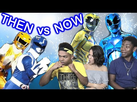 POWER RANGERS THEN vs NOW ft. Becky G and RJ Cyler