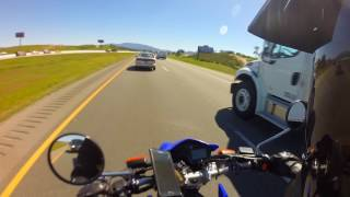 5. Yamaha XT250 Motovlog 46: XT250 Highway Riding
