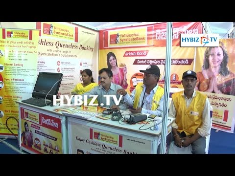 Syndicate Bank-Digi Dhan Mela 2017 Hyderabad