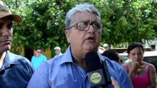 Prefeito de Vieirópolis, Célio da Usina agradece inauguração da Rodovia