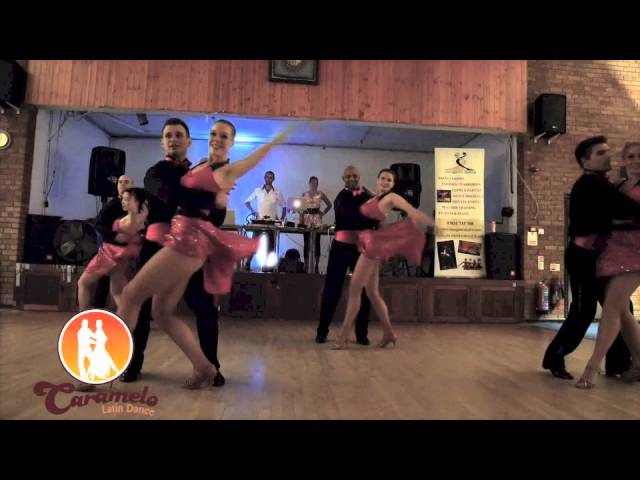 Caramelo Latin Dance Salsa Student Team No2 at Incognito's Loudwater Salsa Club 12 07 2014