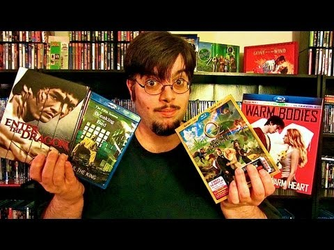 My Blu-Ray Collection Update 6/8/13 Blu ray and Dvd Movie Reviews
