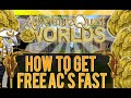 =AQW= How To Get Free AC'S FAST 2015 { 2,000+}