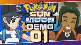 Pokémon Sun and Moon Special Demo -  Part 1   Hau'Oli City! by Munching Orange