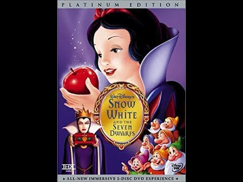 Opening To Snow White And The Seven Dwarfs 2001 DVD