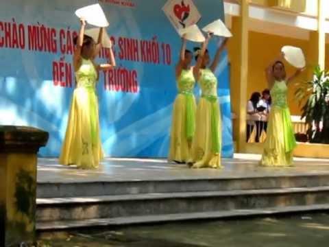 Múa nón - Quê tôi - 10A1 THPT Nguyễn Thị Minh Khai
