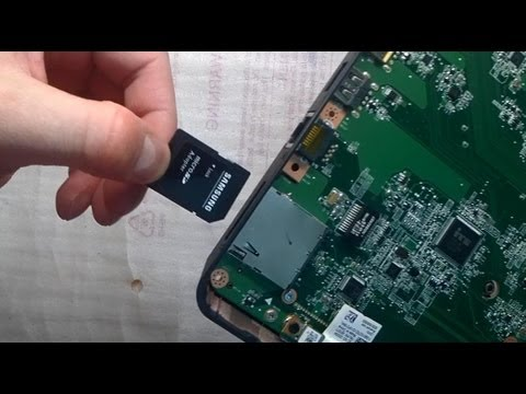 Repair Notebook SD Card Slot Fix Problem does not work