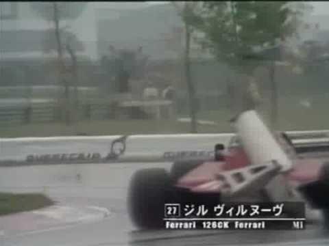 gilles villeneuve guida alla cieca - montreal 1981