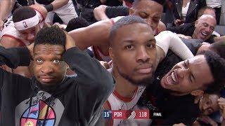 DAMN... DAME SENT US HOME.. THUNDER vs TRAIL BLAZERS GAME 5 NBA PLAYOFFS HIGHLIGHTS