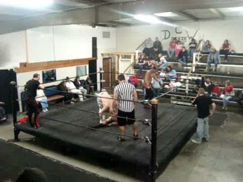 Talon Williams with Adam Stevens & Shawn Banks vs  Alex Michaels & Antonio Thunder Part 1