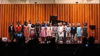 Class Students:  Milder Musical Arts 35th Anniversary Concert