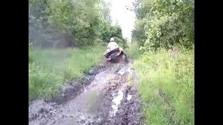 5. Muddy Ride Part 1 - CFMoto ZForce 500 with 2 ATVs