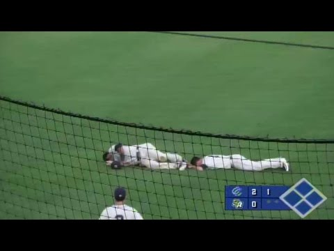 Corpus Christi's Vasquez, Hyde collide in outfield
